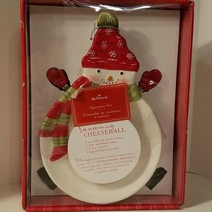 Hallmark Spreader Christmas Set NIB